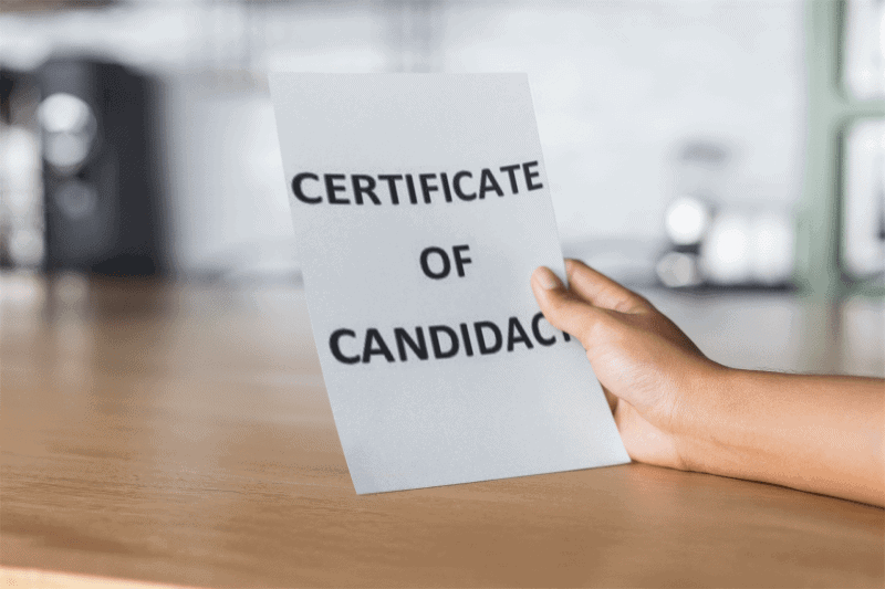What Happens to Government Officials Who File their Certificates of Candidacy?