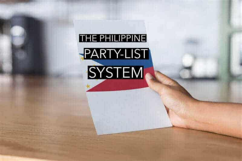 The Philippine Party-List System